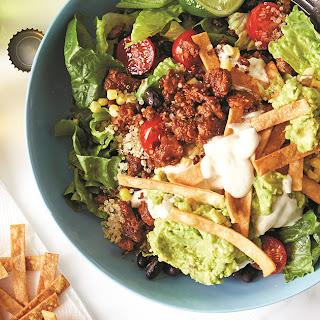 Vegan Fiesta Taco Bowl Recipe