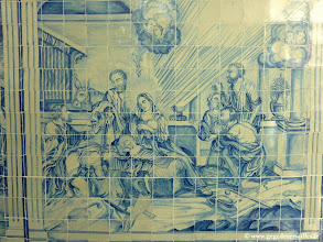 Photo: #021-Salvador de Bahia. Azulejo du Cloître de São Francisco