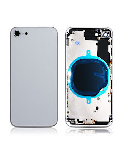 iPhone 8G Back Housing without logo High Quality Silver