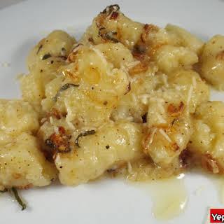 Yukon Gold Potato Gnocchi with Sage Brown Butter.