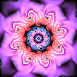 Flower 27 by Cassy 67 - Illustration Abstract & Patterns ( abstract art, digital art, harmony, bloom, flowers, fractal, digital, fractals, flower )