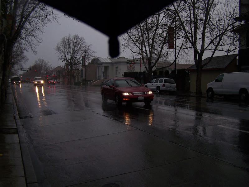 Photo: Rainy morning view