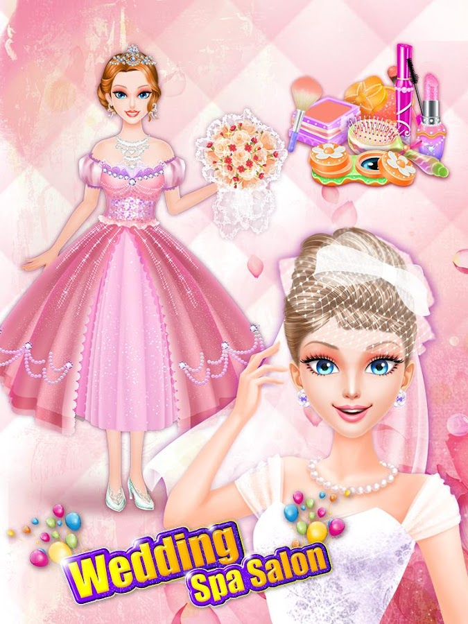 Wedding spa salon girls games android apps on google play for Wedding salon