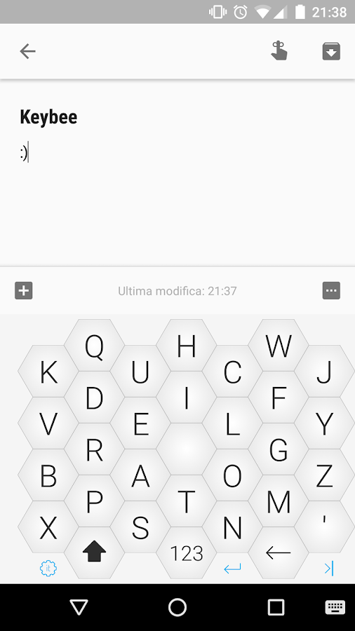 Keybee Keyboard- screenshot