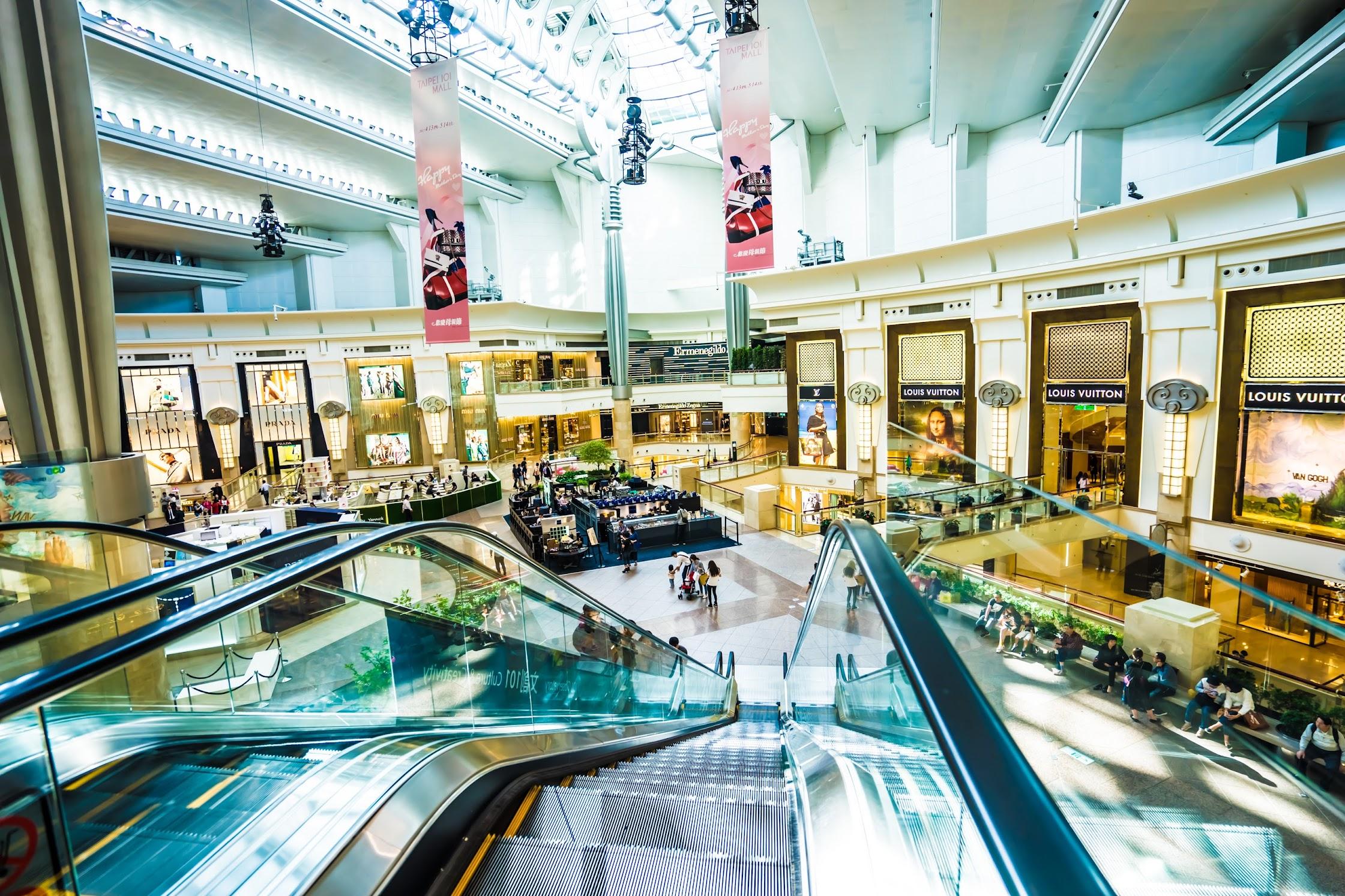 台北101 ショッピングモール