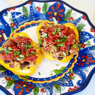 The 28-Day Shrink Your Stomach Challenge Millet Stuffed Peppers