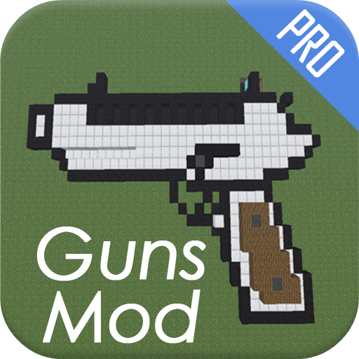 Guns Mod for MCPE 拼字 LOGO-玩APPs