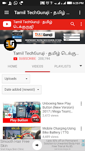 Download Top 10 YouTube Channels Tamil Tech Videos For PC Windows and Mac apk screenshot 2