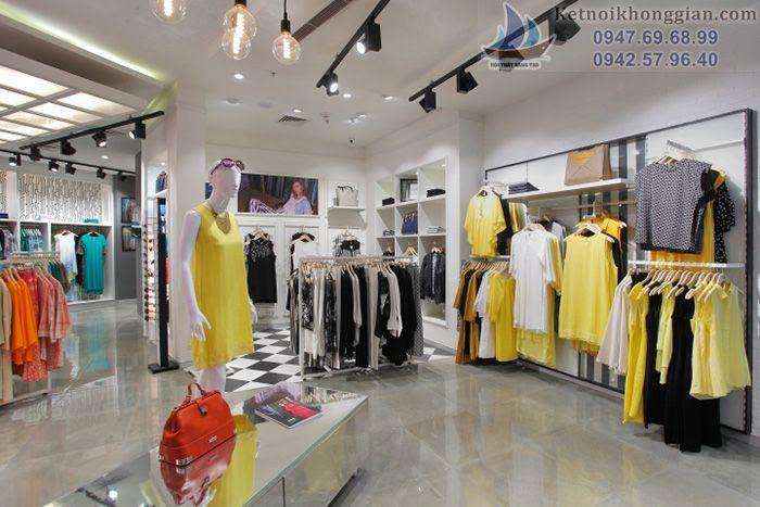 Thiết kế shop thời trang cá tính cuốn hút