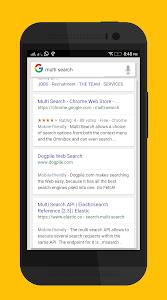 Multi Search - Alpha v1.0