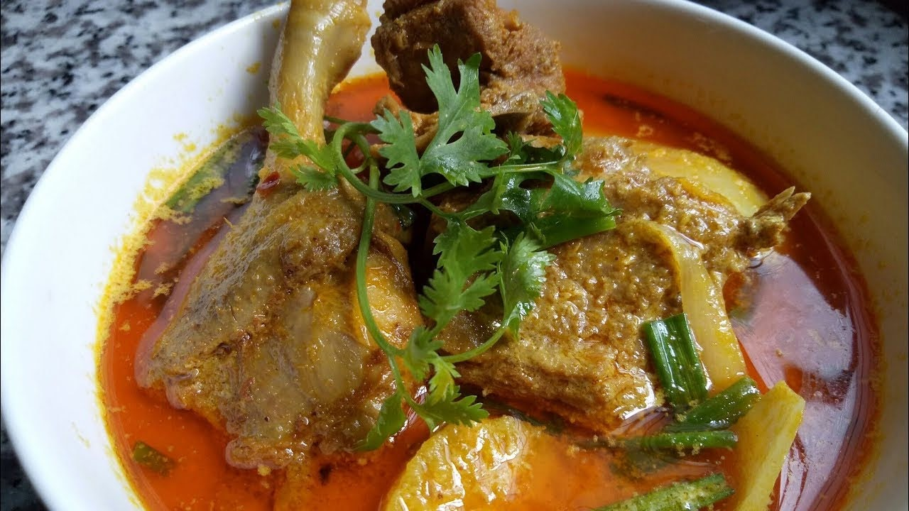 Cách nấu cà ri vịt thơm ngon với hành tây và khoai tây