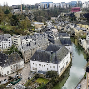 luxemborg by Harold Stoler - City,  Street & Park  Neighborhoods ( travel photography, buildings, cityscape, architecture )