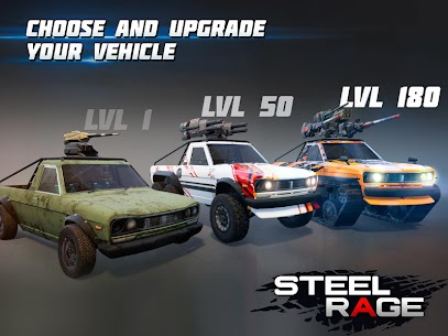 Steel Rage Robot Cars Mod Apk 0.166 (UNLIMITED AMMO, NO RELOAD) 10