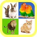 Real animal sound for kids icon