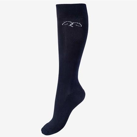 Horze Phoebe Bamboo Winter Socks Mblå