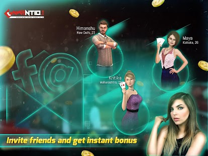 Gamentio 3D Teen Patti Poker Rummy Blackjack +More- screenshot thumbnail