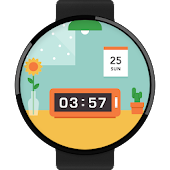 Rooming watchface by Farrell