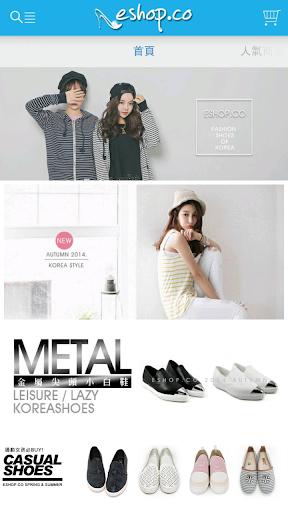 依shop eshop美鞋:韓國空運流行時尚女鞋專賣店