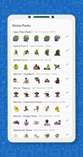 Brazil Funny Memes - Stickers Whatsapp 17.0 screenshots 6