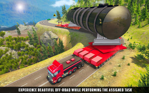 Oversized Load Cargo Truck Simulator 2019 apkpoly screenshots 1