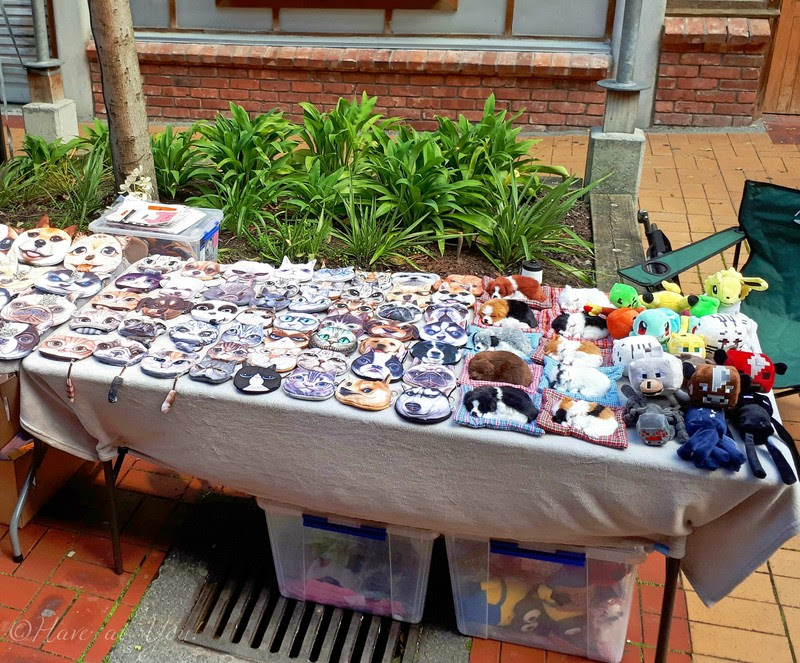 stall selling pet themed items