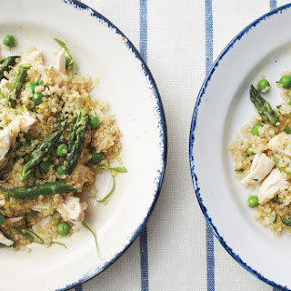 Warm Quinoa and Chicken Salad