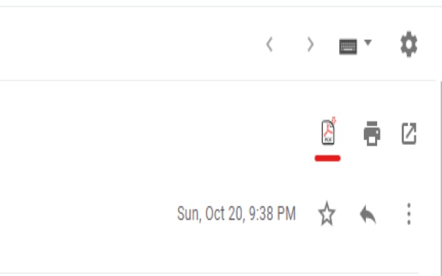 Gmail to PDF for Google Chrome™