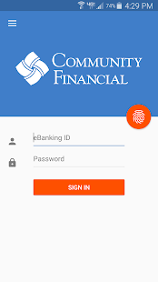 Community Financial Mobile- screenshot thumbnail