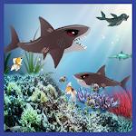 Angry Hungry Reef Shark