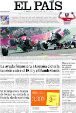 Photo: La ayuda financiera a España eleva la tensión entre el BCE y el Bundesbank, 81 inmigrantes tratan de forzar su entrada a España desde un islote y el curso arranca con decenas de miles de profesores menos, en nuestra portada del lunes 3 de septiembre de 2012 http://ep00.epimg.net/descargables/2012/09/03/c4d7ff9c68e929d49128922baa8a793b.jpg
