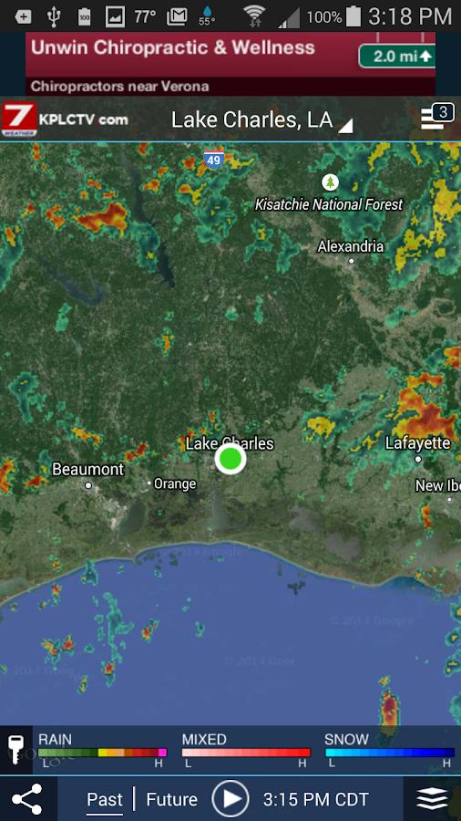 KPLC 7 StormVision Weather- screenshot