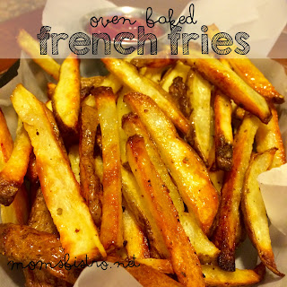 The Secret to Perfect Crispy On The Outside, Fluffy On The Inside French Fries! Crispy Oven Baked French Fries.