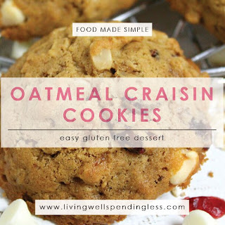 Oatmeal Craisin Cookies.