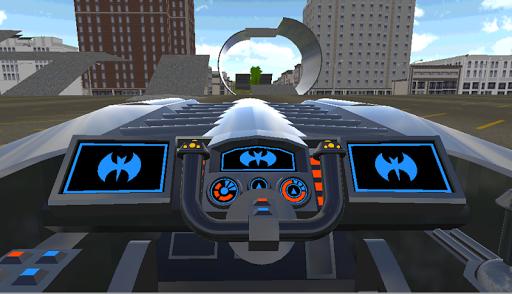 蝙蝠車漂移飛行
