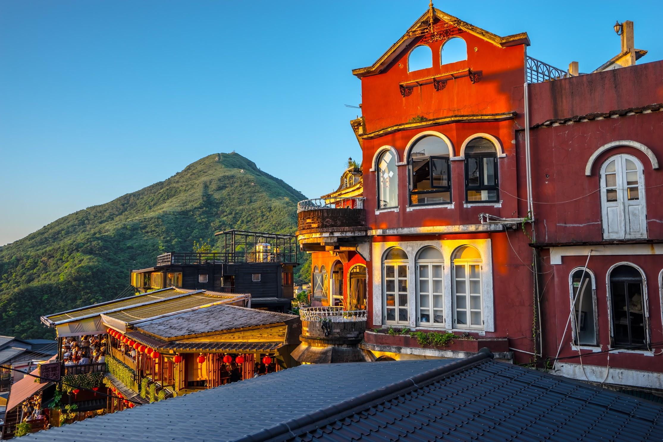 Jiufen Jioufen Teahouse patio