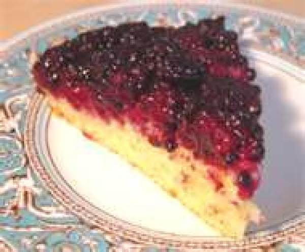 Wild Blackberry Upsidedown Cake Recipe