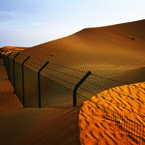 Beyond Borders by Jerry Fer Damian - Landscapes Deserts