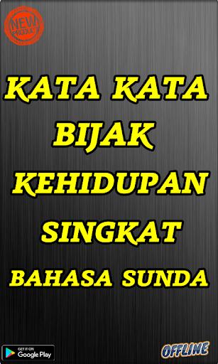 Kata Kata Bijak Kehidupan Singkat Bahasa Sunda Apk Download Apkpure Co