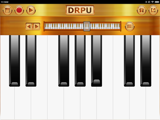 Piano Keyboard Music Pro - DRPU PIANO Learning App  screenshots 22