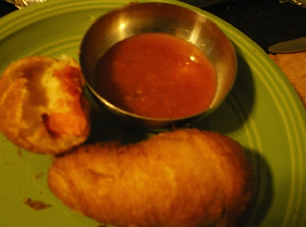 Deep Fried Crescent Pizza Rolls Recipe