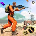 Prisoner Battleground Free Gun Shooting Games 2020 icon