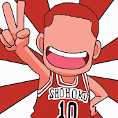 Shohoku Basket Anime wallpaper