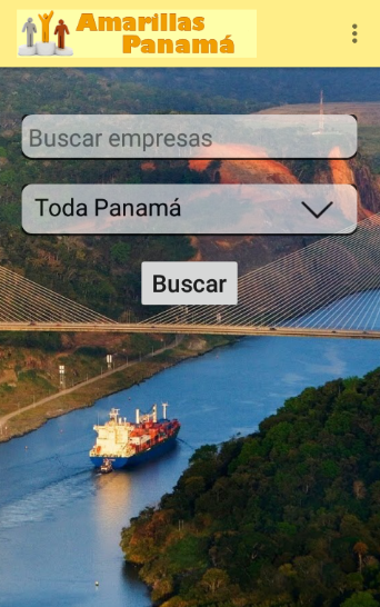 Amarillas Panamá- screenshot
