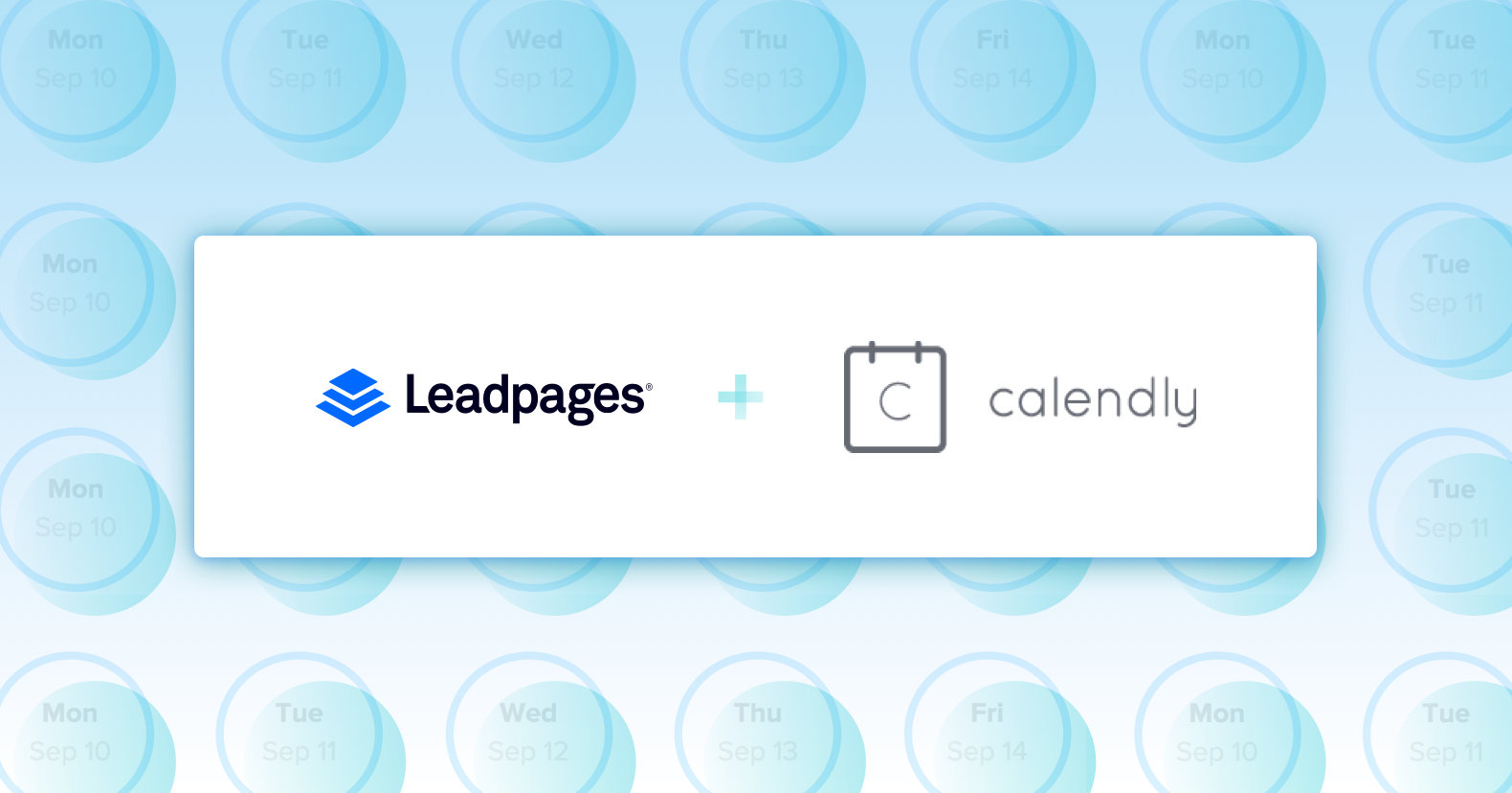 Leadpages calendly widget