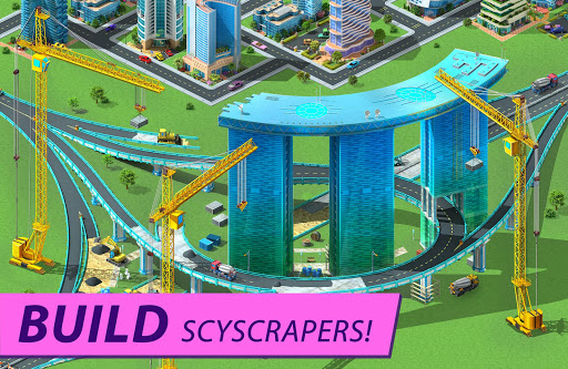 Megapolis: city building simulator. Urban strategy screenshot 2