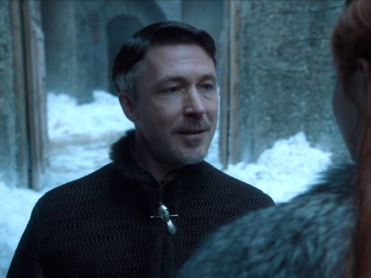 We aren't sure what Littlefinger was thinking about, but the moment stuck out.