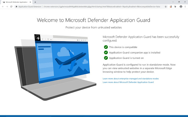 Application Guard Extension