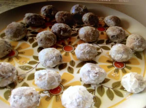Mom's Frosted Date Balls Recipe