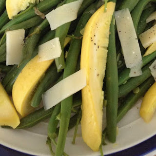 Fresh Green Beans And Tender Summer Squash
