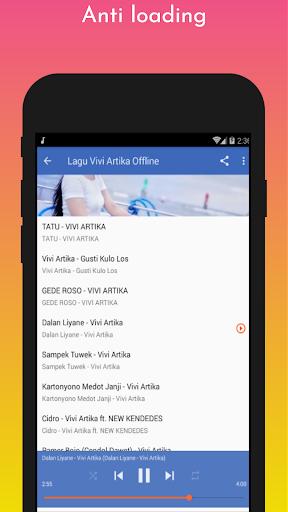 Lagu Vivi Artika Offline screenshot 3